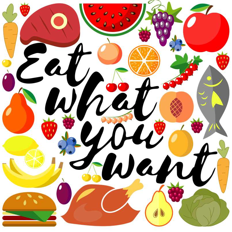 National Eat What You Want Day Wishes For Facebook