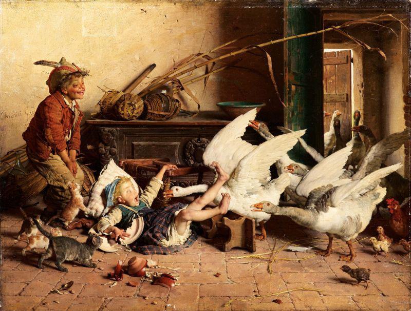 Os Marrecos - Gaetano Chierici