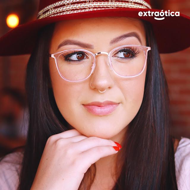 Modelo de Óculos para Rosto Oval