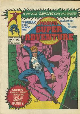 Marvel Super Adventure #6, Daredevil