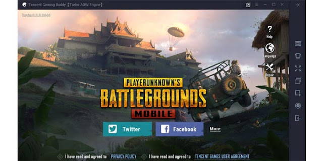 Tencent Gaming Buddy Emulator PUBG Mobile PC