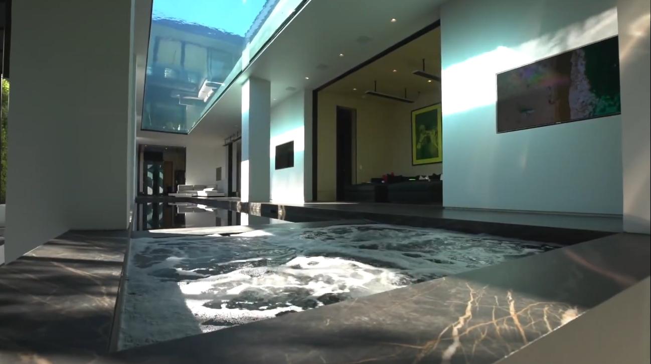 49 Photos vs. $40,000,000   Holywood Hills Mega Mansion   Los Angeles - Luxury 2-Level Swimming Pools Home & Interior Design Video Tour