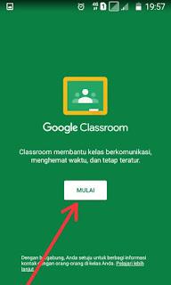Mulai Google Classroom