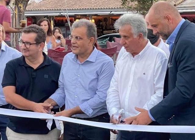 """Εγκαινιάστηκε η έκθεση """"Γεύσεις και Όψεις 2021"""" στο Πορτοχέλι"""