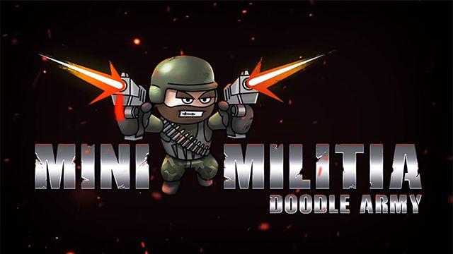 Mini Militia – Doodle Army 2 v5.3.0 [MOD, Pro Pack]