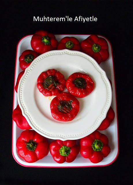 domates biberi turşusu