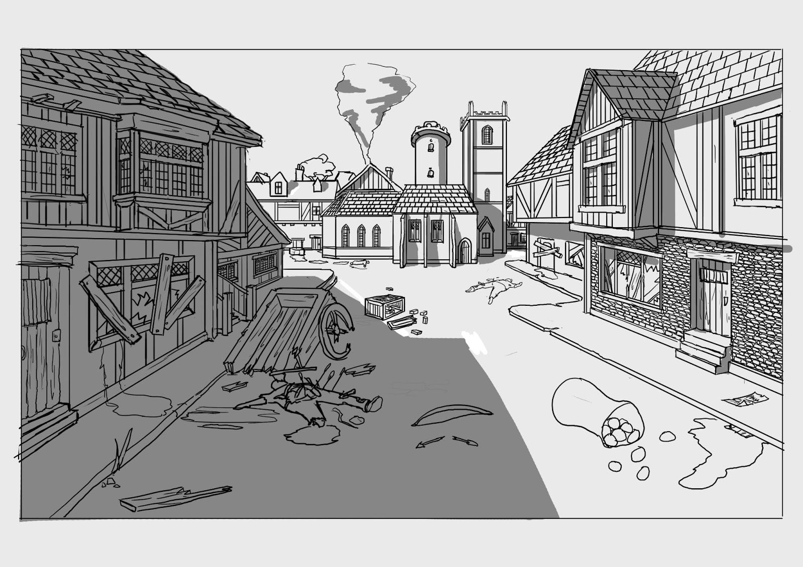 Medieval Zombie Apocalypse Pre Production