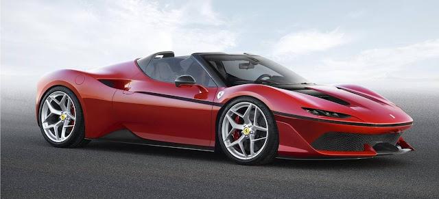 Ferrari J50 de 690 CV