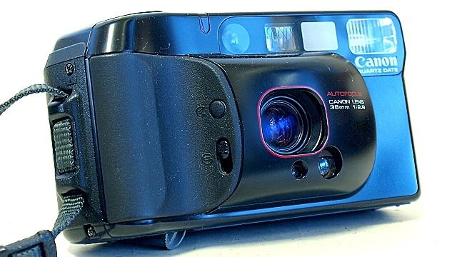 Canon Autoboy 3. Tilt stand