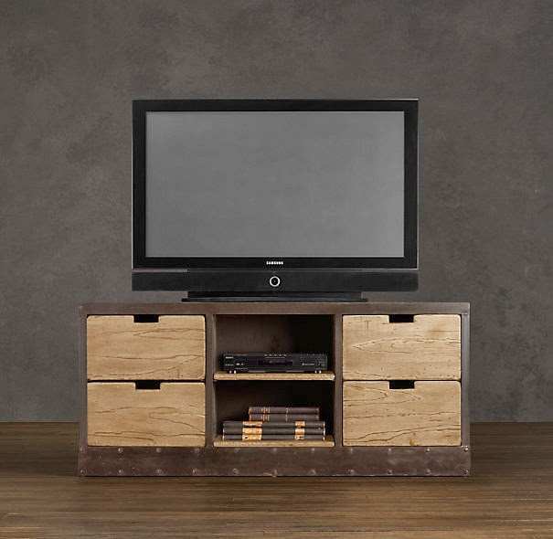 restoration hardware dutch shipyard media cabinet