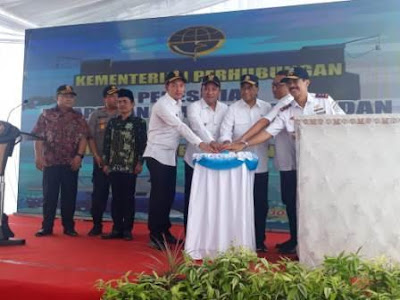 Usai Dibangun, Pelabuhan Trunojoyo Taddan Resmi  Beroperasi Dengan Nama Baru