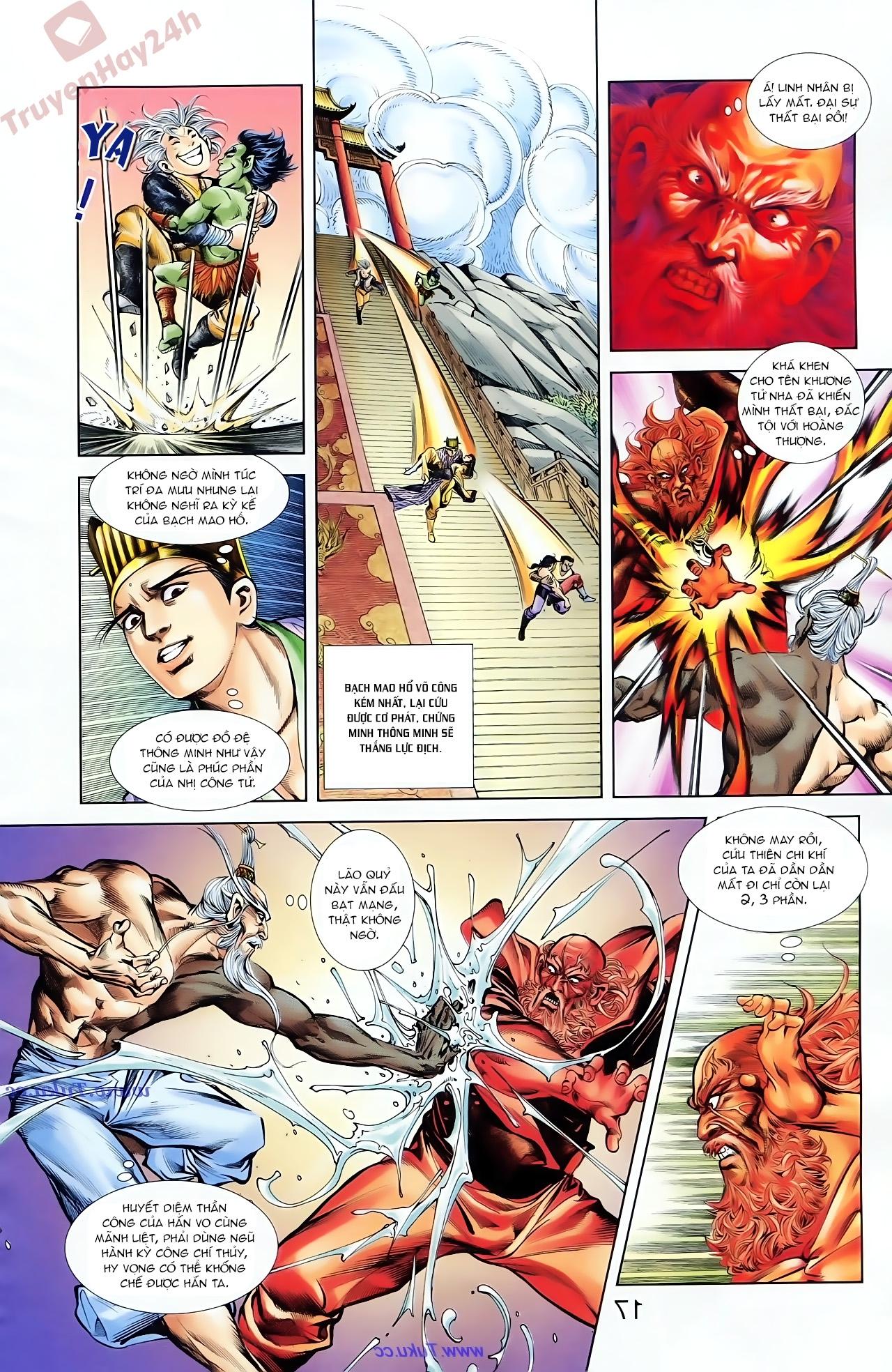 Cơ Phát Khai Chu Bản chapter 83 trang 10
