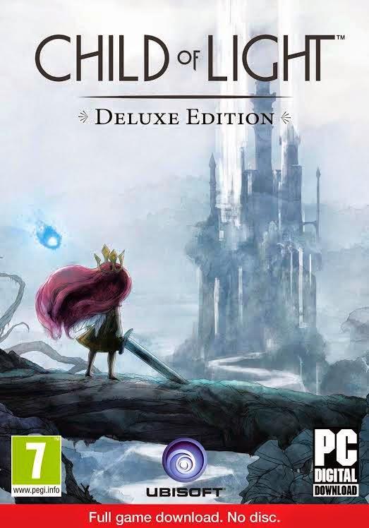 Cover Caratula Child Of Light Full PC ESPAÑOL