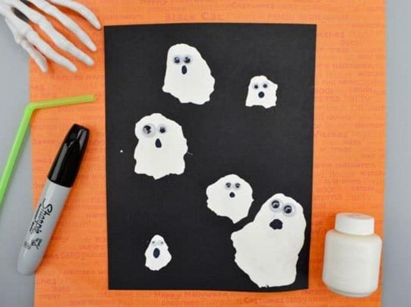 straw blown ghost craft