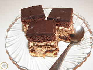 Prajitura cu ciocolata si nuca reteta,