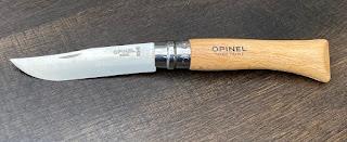 オピネルのコークスクリューナイフ