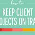 Client Projects Management #infographic