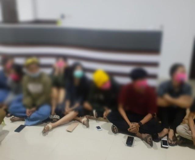 Diduga PSK, Belasan Remaja Diamankan Dinsos Kota Jambi