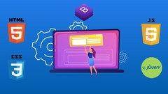 Learn HTML, CSS , jQuery and Bootstrap by Building Websites