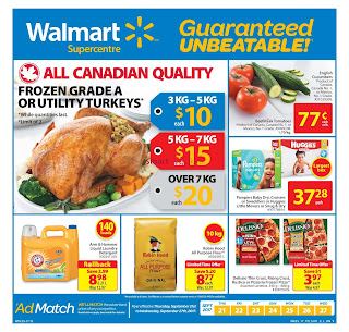 Walmart Supercentre - Back to school valid September 2 - 27, 2017