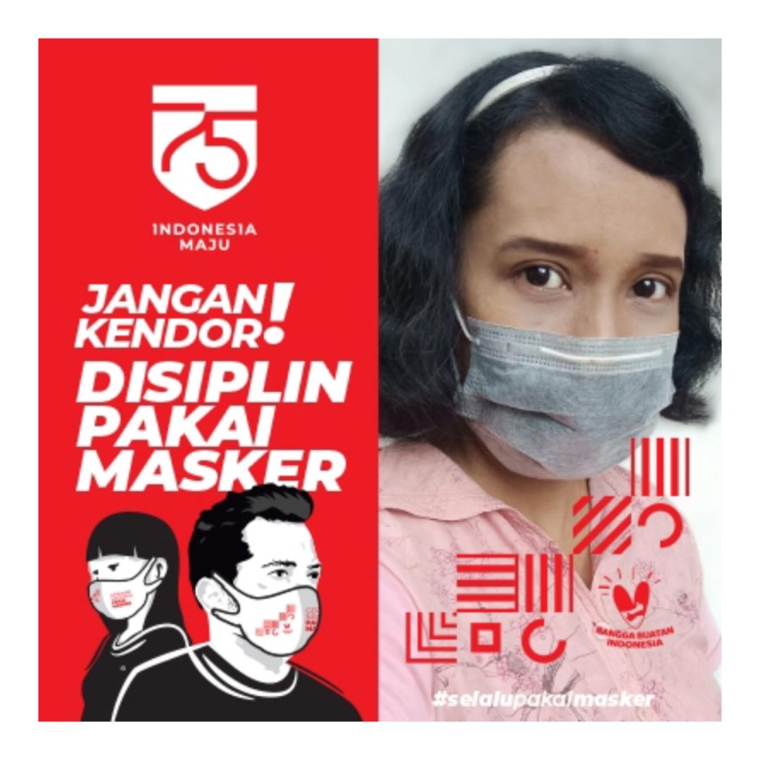Gerakan selalu pakai masker