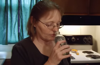 Woman Is Damaging Her Brain By Smelling Petrol