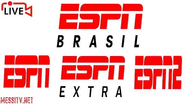 ESPN Brazil, ESPN 2 Brasil, ESPN Extra Brazil, Assistir Brasil TV ao vivo online