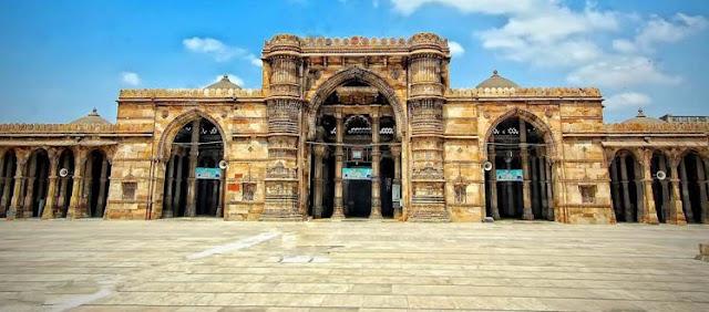 What is Ahmedabad Heritage Tour - jami masjid
