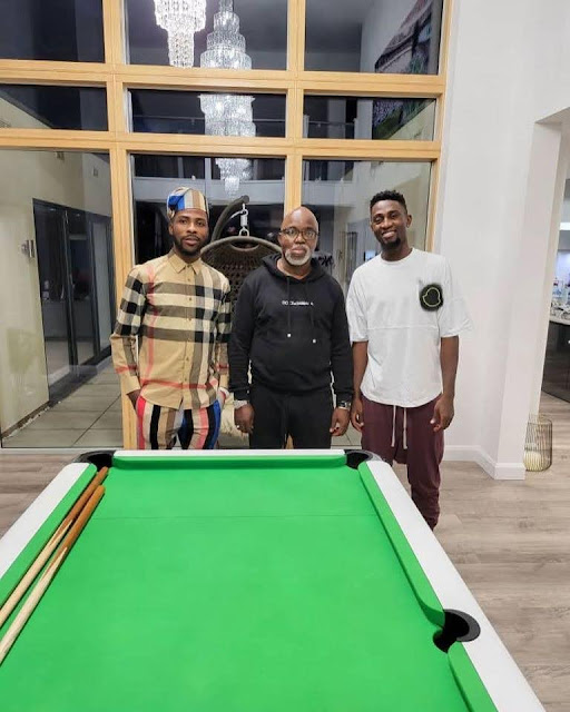 Family Hangout With Wilfred Ndidi: How Amaju Pinnick Is Making A Difference with His Personal Touch