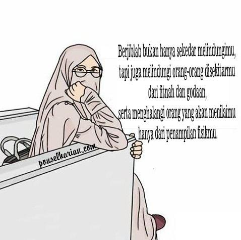 Kumpulan Gambar Animasi Berhijab Syar Allah Islam Memperbaiki Hati Prilaku
