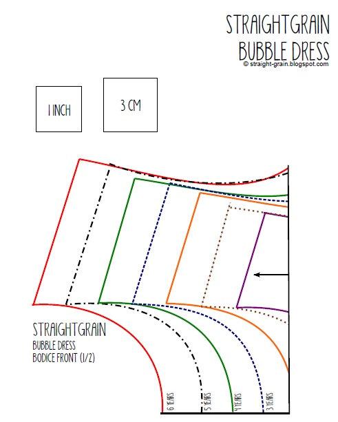 Bubble Dress Pattern Available Now Straightgrain