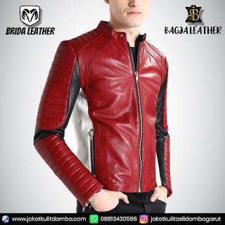 jaket kulit ghost rider