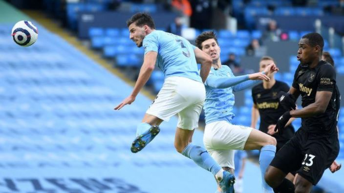 Manchester City Vs West Ham United 2 1 Highlights