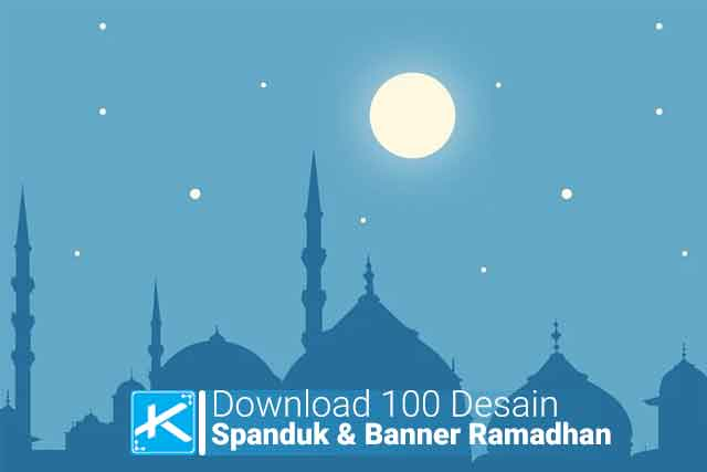 Contoh Spanduk Ramadhan Terbaru - desain banner kekinian