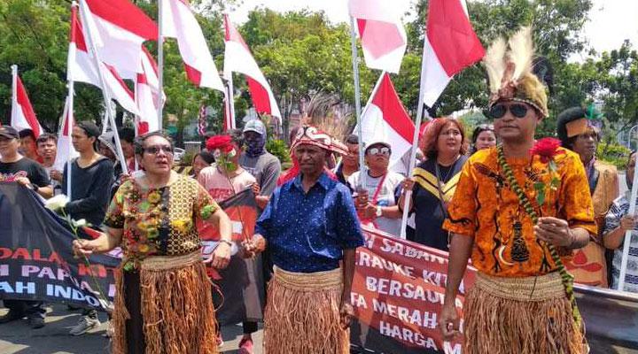 Masyarakat Papua Ingin Tetap Bersama Indonesia