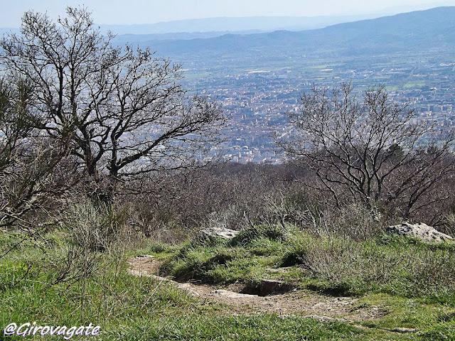 sentiero mausoleo Malaparte Prato