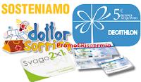 Logo TantiPremi: con i Punti Sorriso richiedi Ticket Compliments, buoni Decathlon e non solo
