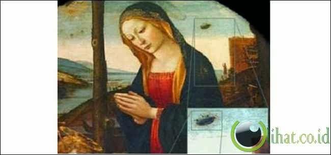 UFO di Lukisan Abad ke-15