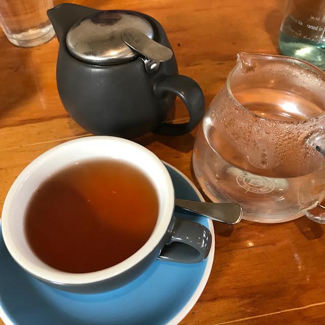 Golden Child, Glen Iris, pu erh tea