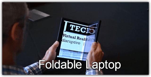 Best Electronic Gadgets Foldable Lenovo Laptop Flexible Screen