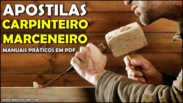 apostila de carpinteiro