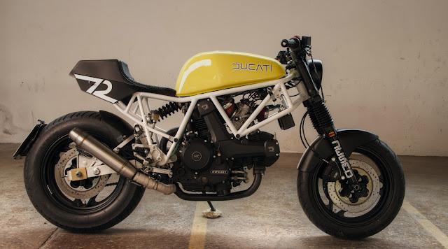 Ducati 750 Sport By Werkmannskunst Hell Kustom