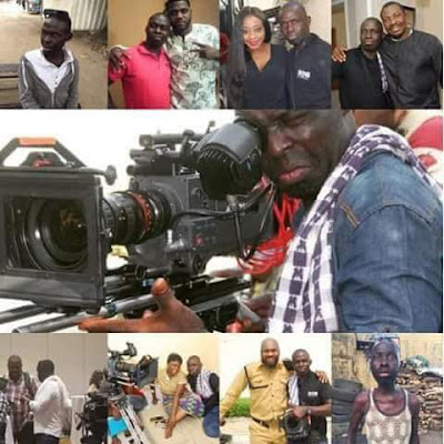 Photos: Nigerian cinematographer, Ademola Ariyo who shot Osuofia in London, Blood Money, dies in abject poverty from kidney failure