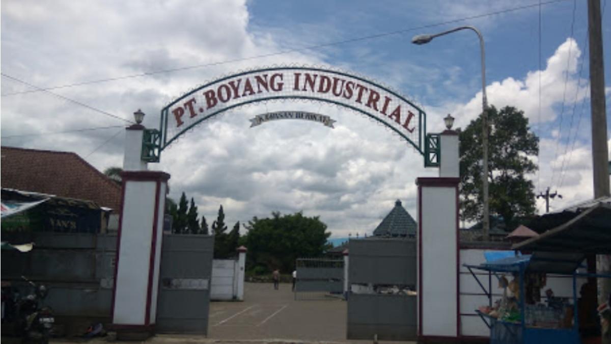 Pt boyang industrial Purbalingga