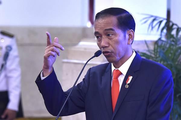 Jokowi Marah Besar Tangkap Penimbun Penjual Masker