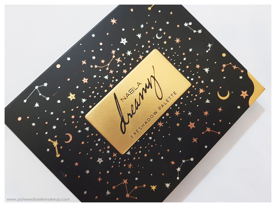 Nabla Cosmetics Dreamy Eyeshadow Palette Packaging