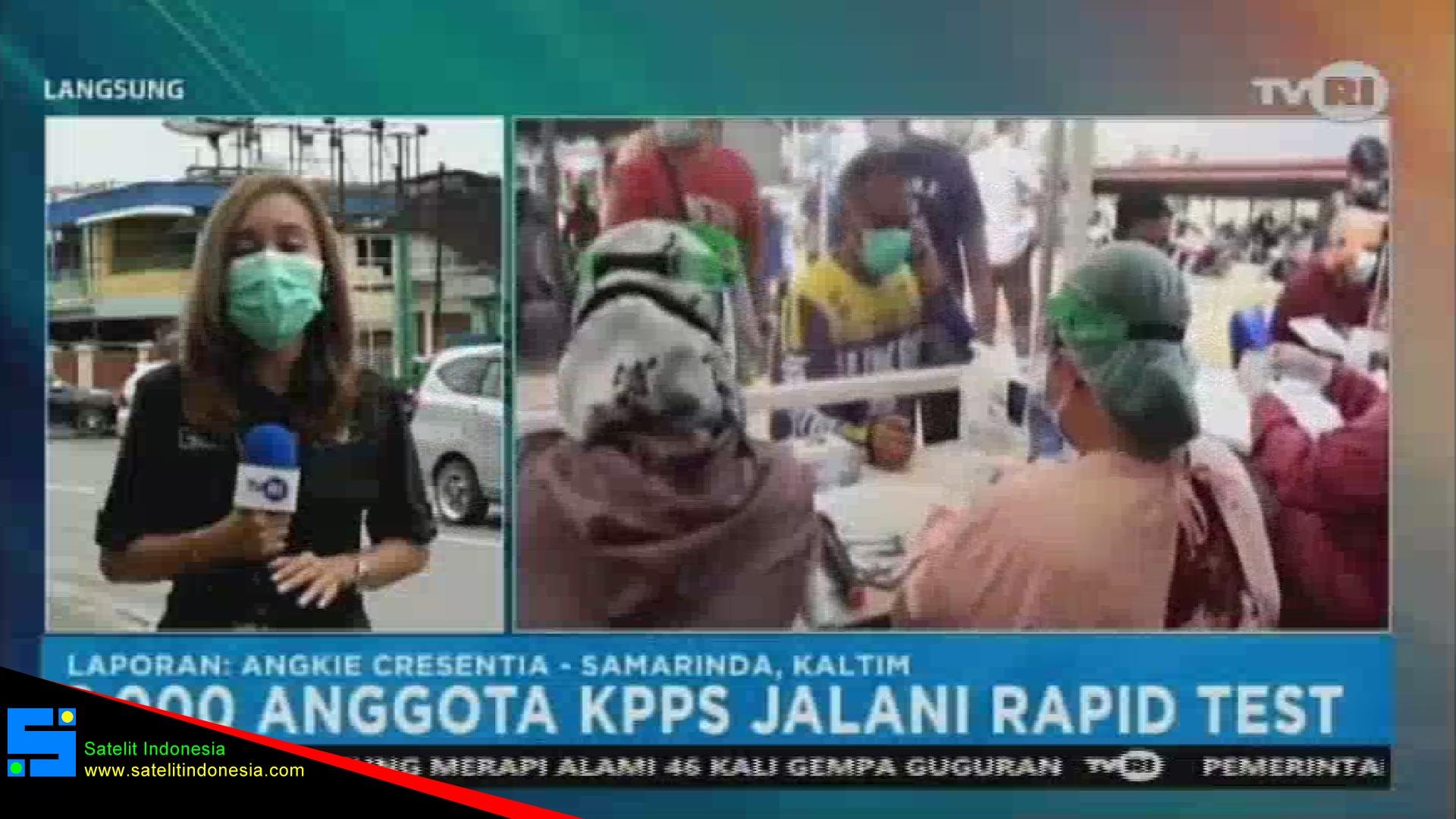 Frekuensi siaran TVRI Jambi di satelit Telkom 4 Terbaru