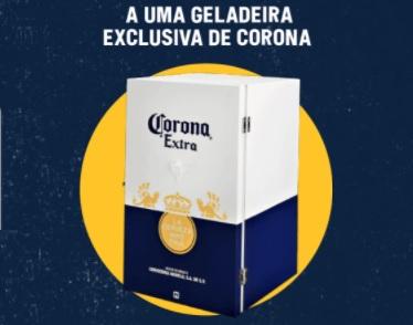 Cadastrar Promoção Verão Corona 2021