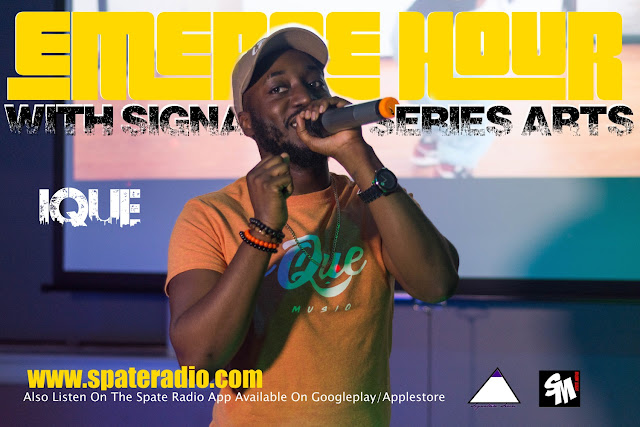 The Emerge Hour With Signature Series Arts & Spate Media Feat Ique Episode 13