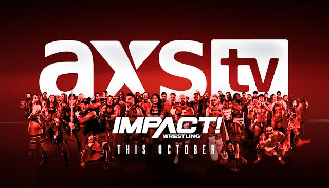 Hivatalos: Az AXS TV-re költözik az Impact Wrestling
